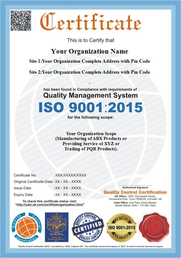 Iso 90012015 iso 9001 certification qc certification yelopaper Images
